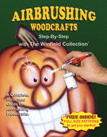 Airbrushing Woodcrafts Book