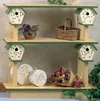 Birdhouse Shelf Wood Plans