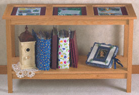 Memory Display Table Wood Project Plan