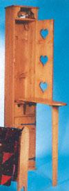 Ironing Board Cupboard Wood Project Plan