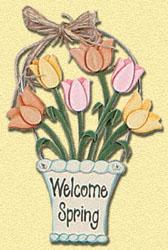 Spring Bouquet Pattern