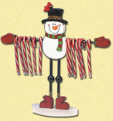 Candy Cane Holder Woodcraft Pattern