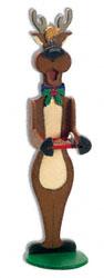 Reindeer Birdfeeder Woodcraft Pattern