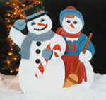 Snowman and Snowlady  Combo Patterns