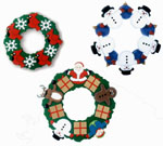 Holiday Wreaths Woodcraft Pattern