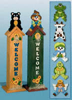 Seasonal Birdhouse Greeters Pattern