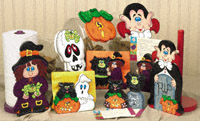 Crazy For Halloween Woodcraft Pattern