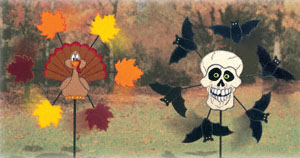 Fall Holiday Whirligigs Wood Project Plan