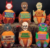 Dress Up Pumpkins Pattern Set #2