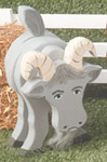 Layered Goat Woodcraft Pattern