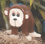 Layered Monkey Woodcraft Pattern