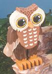 Layered Owl Woodcraft Pattern