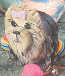 Layered Yorshire Terrier Woodcraft Pattern