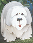 Layered Sheepdog Woodcraft Pattern