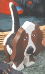Layered Hound Woodcraft Pattern