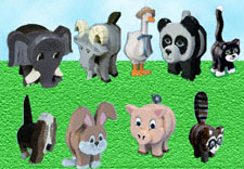 Layered Animal Pattern Collection
