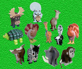 Layered Animal Pattern Collection #2