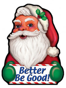 Be Good Santa Magnet