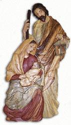 Holy Family Intarsia Pattern
