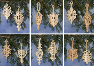 Scroll Saw Christmas Ornaments Patterns Free