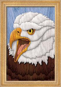 Majestic Eagle Wall Art Scroll Saw Pattern