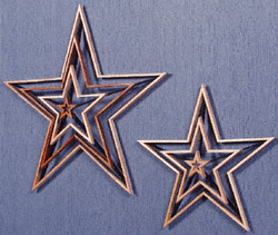 Shooting Stars Scroll Saw Pattern