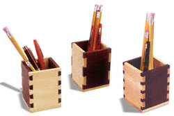 Dovetail & Box Joint Pencil Box Patterns