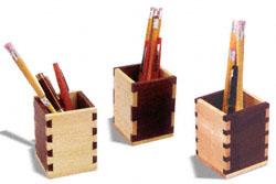 Dovetail & Box Joint Pencil Box Patterns