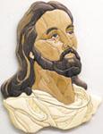Christ Intarsia Scroll Saw Pattern