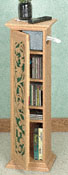 Hummingbird Pedestal Cabinet Wood Plans