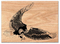 Eagle Strike Scroll Saw Pattern