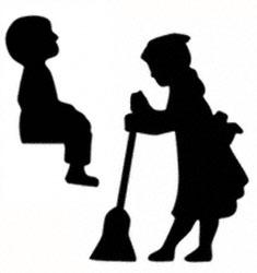 Little Helpers Shadow Woodcraft Pattern