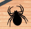 Giant Spider Shadow Woodcraft Pattern