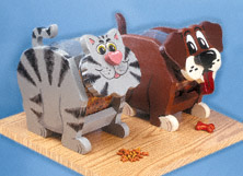 Cat & Dog Treat Jar Patterns