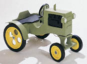Play Tractor Woodworking Plan