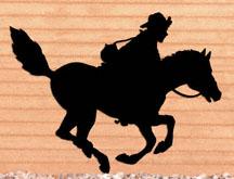Pony Express Shadow Woodcraft Pattern