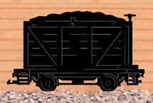 Coal Car Shadow Woodcraft Pattern
