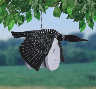 Loon Birdhouse Wood Project Pattern