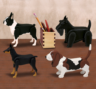 Desk Dog Pattern Set 3 Wood Plan