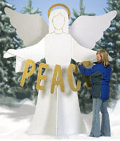 Gigantic Angel Woodcraft Pattern