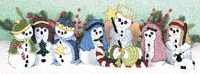 Table Top Snowman Nativity Pattern