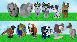 Layered Animal Pattern Collection #5