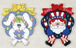 Easter & July 4th Wreaths Patterns