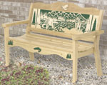 Bear Ridge Bench Wood Pattern