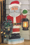 Welcome Santa Woodcraft Pattern