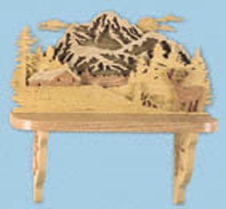 The Rockies Shelf Project Pattern