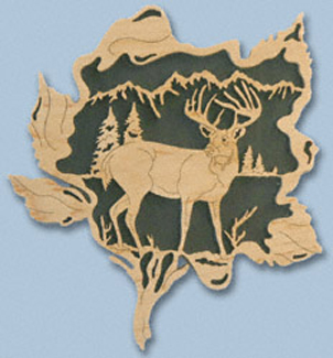 Wildflower - Whitetail Deer Project Pattern