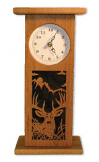 Whitetail Deer Tall Clock Project Pattern