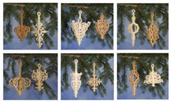 2 Piece Slotted Ornament Set #5 Project Pattern