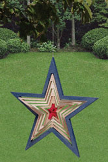 Shooting Star Wind Whirler Project Pattern